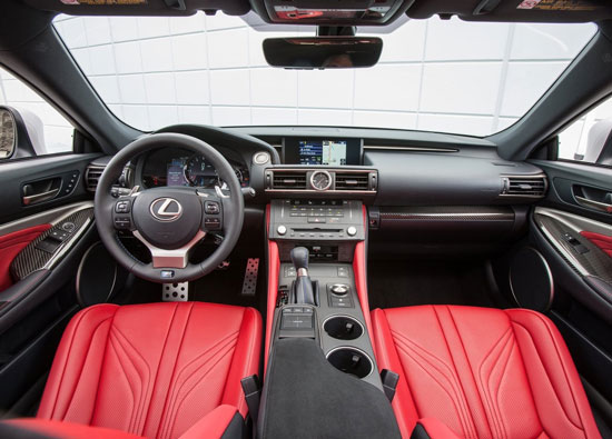 پرقدرت ترین خودروی 8 سیلندرِ لکسوس