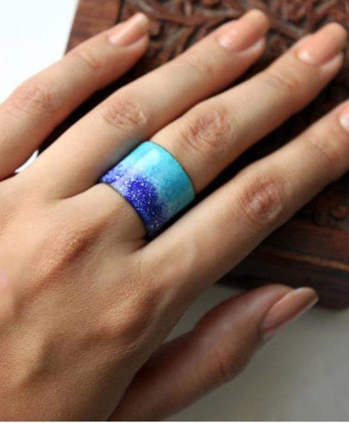 انواع مدل های جدید زیورآلات دست ساز غزال