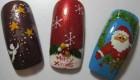 سری جدید عکس های جالب از مدلهای ناخن مخصوص کریسمس