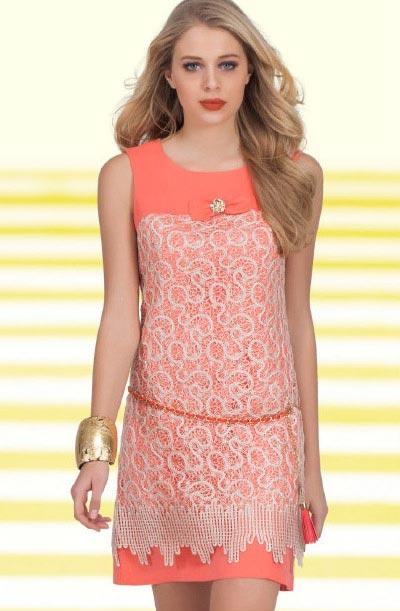 انواع مدل های جدید لباس کوتاه زنانه Green Country