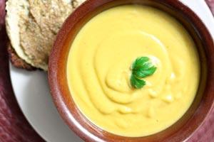 طرز پخت سوپ هویج و گل کلم تند