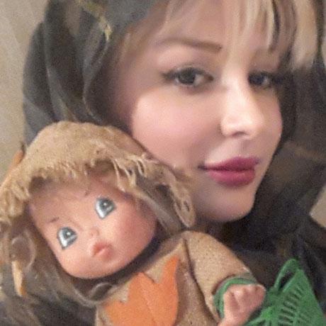 عروسک دوست داشتنی نیوشا ضیغمی +عکس