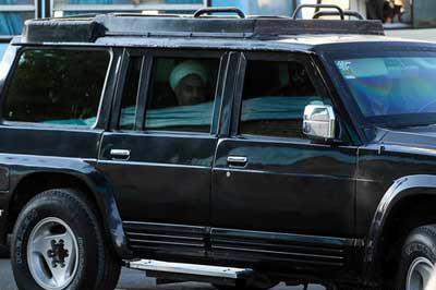عکس خودرو حسن روحانی رئیس جمهور ایران