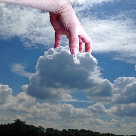 عکس های جالب فوق العاده زیبا از هنرنمایی با ابرها