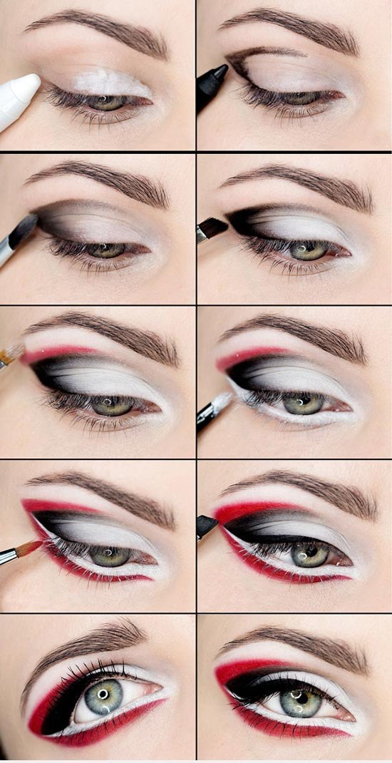 آرایش چشم عربی +آموزش تصویری