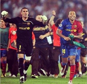 خداحافظي جالب تيري هانري از دنیای فوتبال +عکس