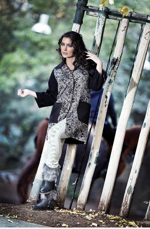 انواع مدل های جدید لباس پاییزی و زمستانی زنانه Donya