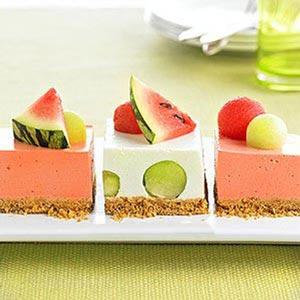 طرز تهیه دسر هندوانه مخصوص شب یلدا