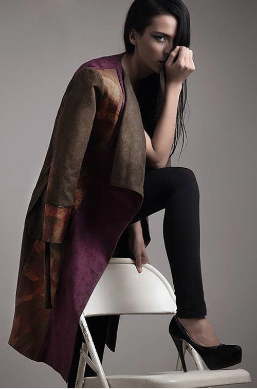 انواع مدل های جدید مانتو ایرانی آپامه