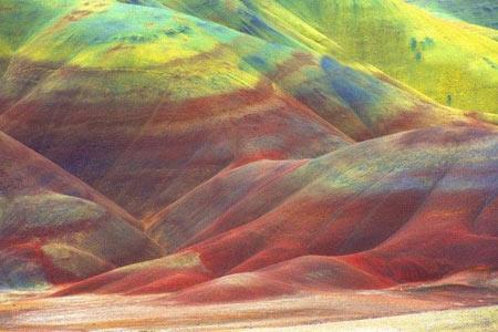 کویری به مانند تابلو نقاشی +عکس
