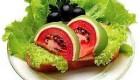 نحوه تزئین غذا به شکل هندوانه مخصوص شب یلدا
