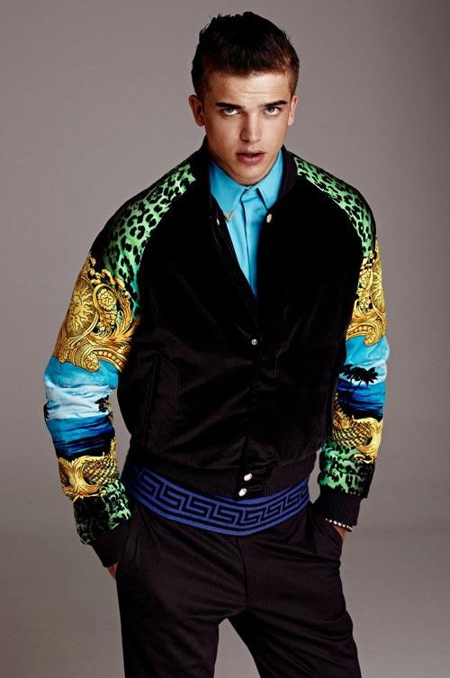 انواع مدل های جدید لباس مردانه Versace