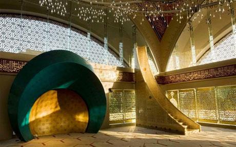 وقتی که زنان مسجد طراحی می کند +عکس