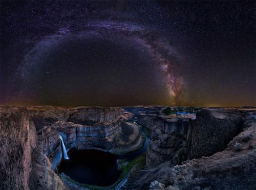 تصاویری جالب و دیدنی کهکشان راه شیری