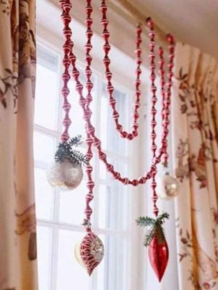 نمونه های زیبای تزیینات و چیدمان خانه در کریسمس 2015