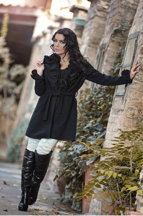 انواع مدل های جدید لباس پاییزی و زمستانی زنانه Donya 2015