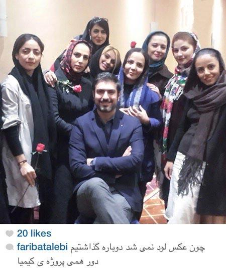 افراد سرشناس ایرانی در شبکههای اجتماعی +عکس