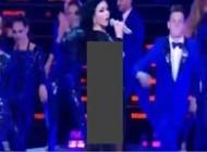 لباس بدن نمای خواننده زن عرب جنجال به پا کرد! +عکس