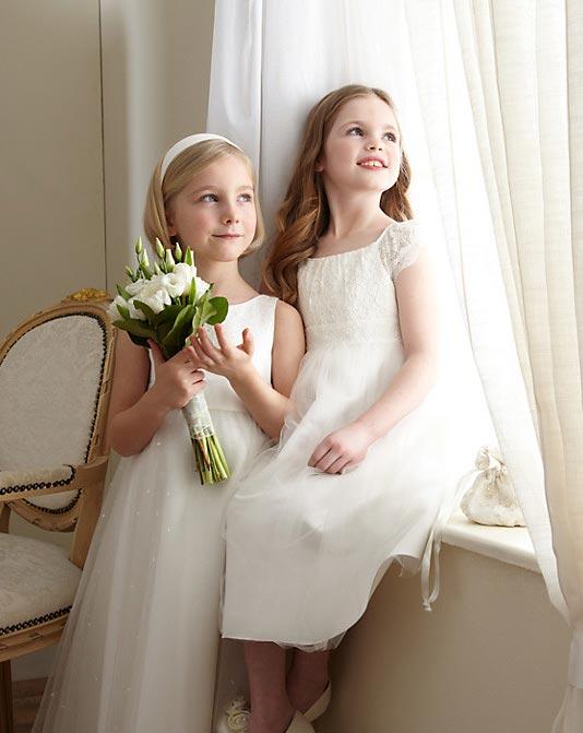 انواع مدل های جدید لباس عروس دخترانه johnlewis