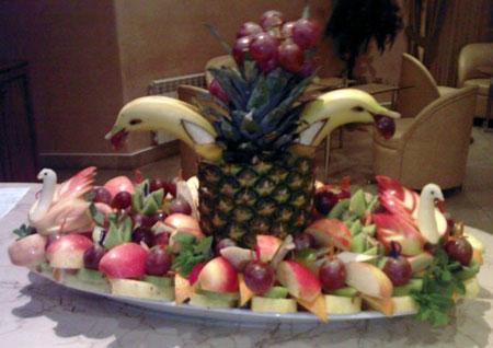 نمونه هایی از میوه آرایی های شیک شب یلدا