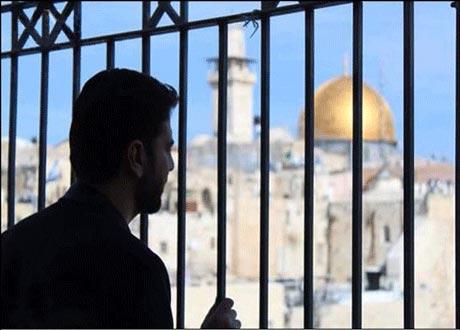 حضور چهره محبوب ایرانی در مسجدالاقصی +عکس