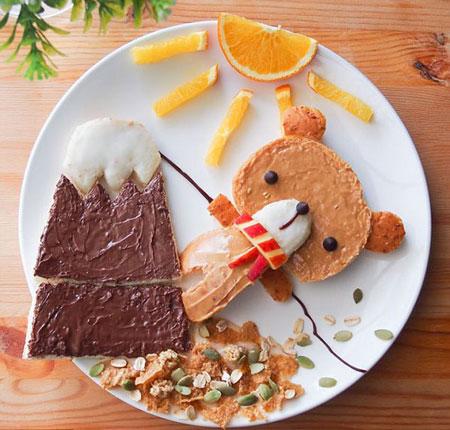 تزیینات غذای کودک