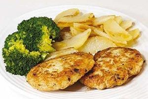 طرز پخت کوکو مرغ با لوبیا سفید