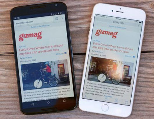 Nexus 6 در مقابله با iPhone 6 Plus
