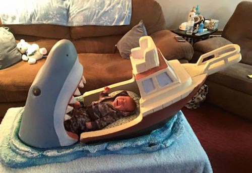 تختخواب فوق العاده ترسناک یک کودک +عکس