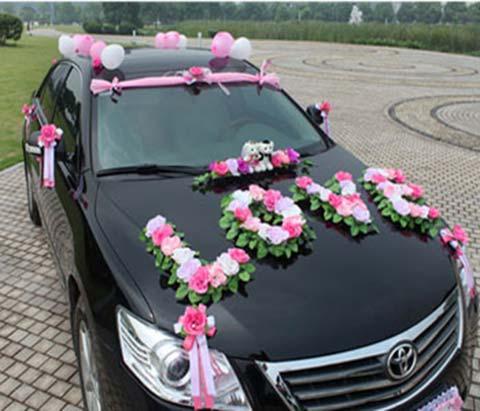 زیباترین  و جدیدتزین مدل های تزیین ماشین عروس