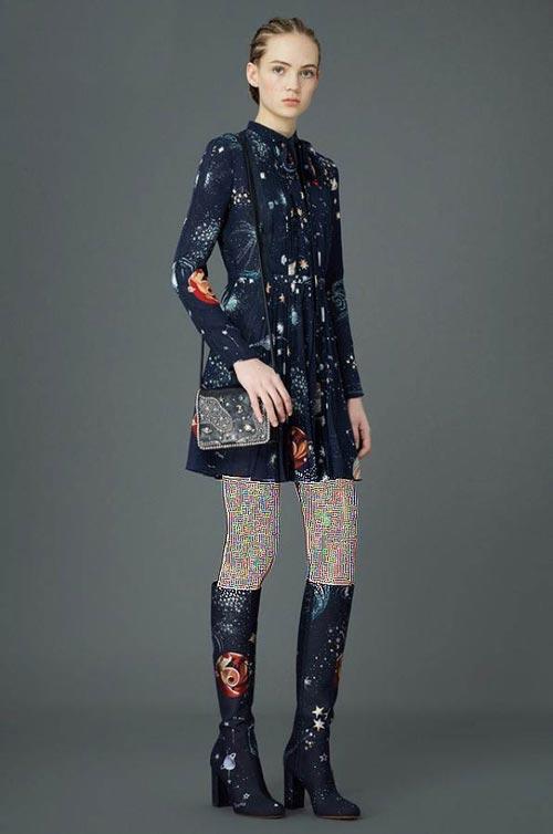 ایده های جالب لباس کهکشانی دخترانه +عکس