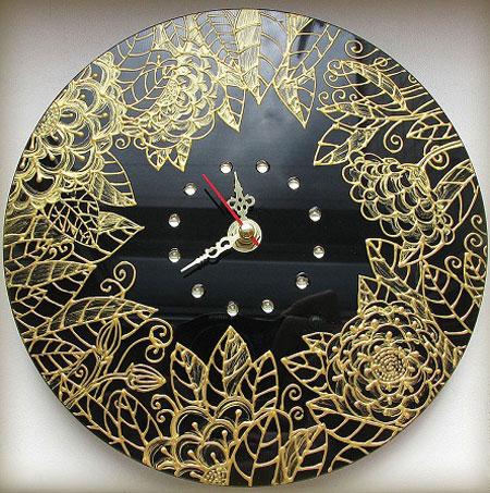 نمونه هایی زیبا از ساعت های ویترای