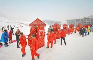 عروسی دسته جمعی در جنوب شرقی چین +عکس