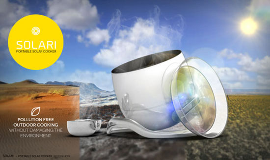 اختراع قابلمه خورشیدی +عکس