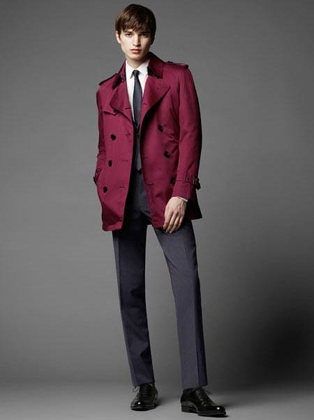 انواع مدل های جدید لباس مردانه برند Burberry