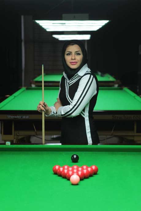 مصاحبه جالب با دختر نابغه بیلیارد ایران +عکس