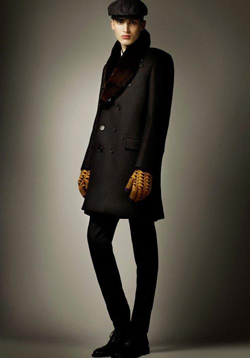 مدل های جدید لباس  پاییزی و زمستانی مردانه برند Burberry