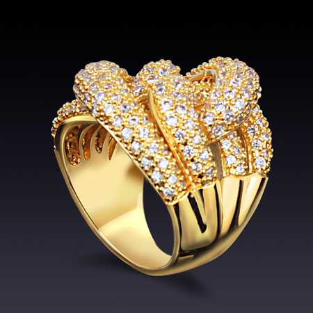 مدل انگشتر طلا جدید و شیک