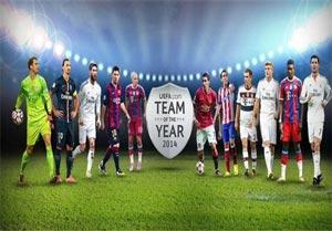 تیم منتخب قاره اروپا در سال 2014 +عکس