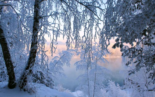 عکس های بسیار زیبا از طبیعت زمستانی و برفی