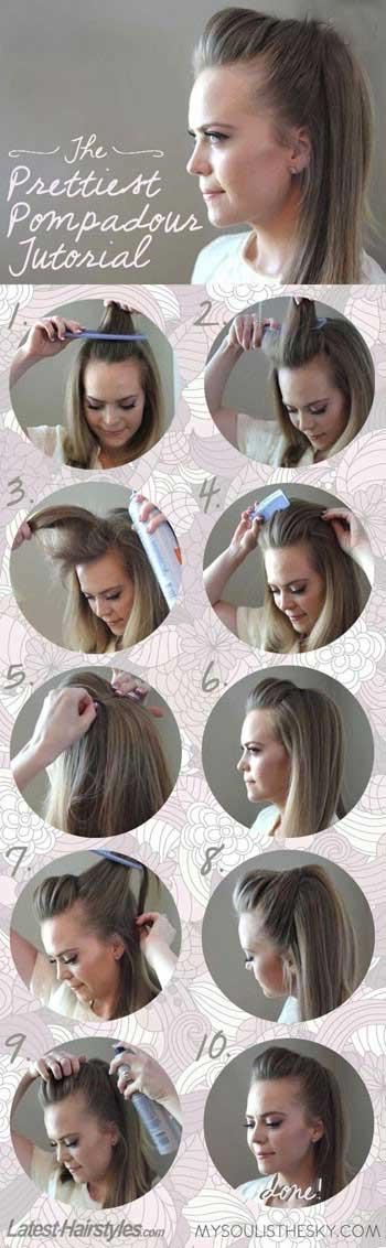 مدل های موی سر در 5 دقیقه !