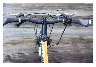 دوچرخهای با چرخهای الکترونیکی +عکس