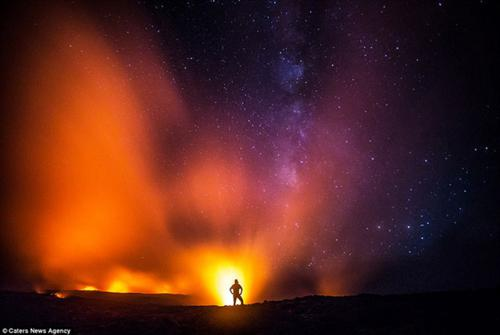 عکس های جالب و دیدنی از فوران آتشفشان Kilauea