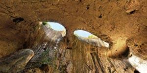 غار باور نکردنی در بلغارستان معروف به چشم خدا +عکس