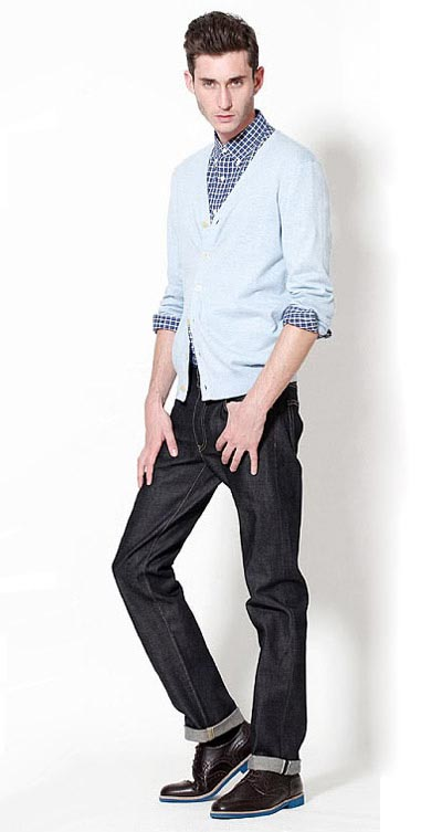 انواع مدل های جدید لباس مردانه برند UNIQLO