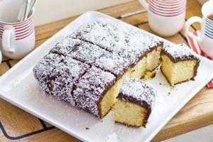 نحوه تهیه کیک لامینگتون