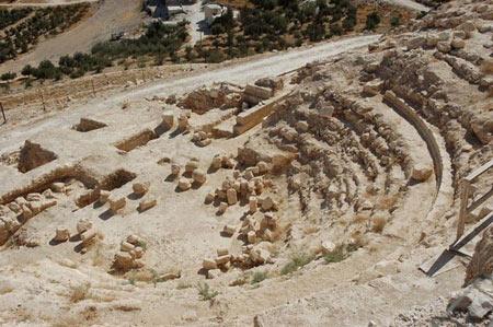 عکس هایی از آرامگاه سلطنتی پادشاه هیرودیس