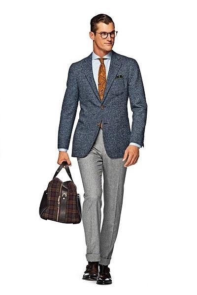 انواع مدل های جدید پاییز و زمستانه لباس های مردانه ی برند Suitsupply
