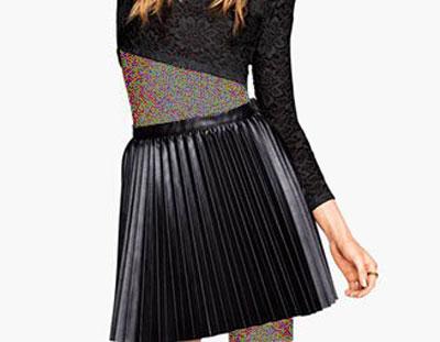 مدل های جدید دامن چرم زمستانی به پیشنهاد مجله Elle