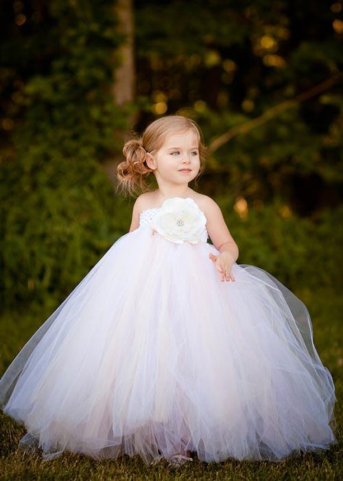 مدل های جدید لباس توری دخترانه 2015